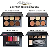 Aesthetica-Cosmetics-Contour-Series-Contouring-and-Highlighting-Library-Set-Includes-Aesthetica-Cream-Powder-Brow-Lip-Contour-Kits-Suitable-for-All-Skin-Tones-Vegan-Cruelty-Free