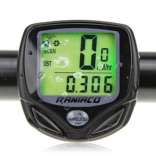 Bike Computer, Raniaco Original Wireless Bicycle Speedometer,Bike Odometer Cycling Multi Function