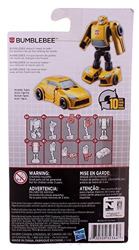 Transformers Bumblebee 10-step Transforming Action Figure (Yellow Camaro Bumblebee compare prices)