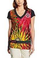Desigual Camiseta Manga Corta Kluna (Multicolor)