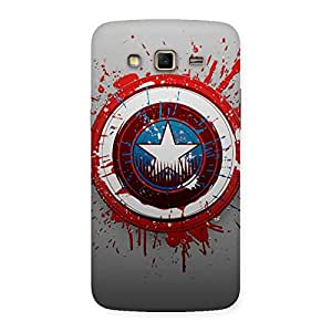 Enticing Premier Blood Round Multicolor Back Case Cover for Samsung Galaxy Grand 2