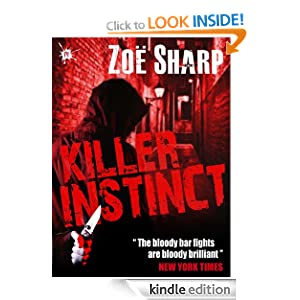 Killer Instinct: Charlie Fox book one Zoe Sharp and Lee Child
