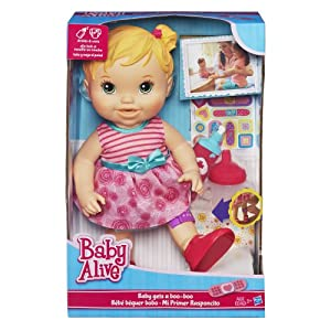 Baby Alive Baby Gets A Boo-Boo Doll