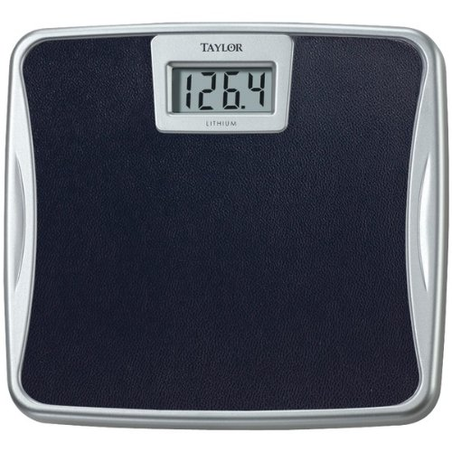 Taylor 330Lb Capacity Lithium Electronic Digital Scale - Silver