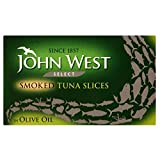 John West Select Smoked Tuna Slices in Olive Oil (120g)