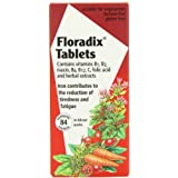 Floradix Iron Supplement Tablets 84 Tablets