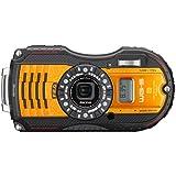 "Ricoh WG5 Appareil photo étanche avec GPS 3"" (7,62 cm) 16 Mpix 4x HDMI Orange"