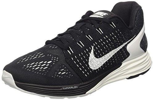 Nike Men's Lunarglide 7 Running Shoe Black/Summit White/Anthracite 8 D(M) US