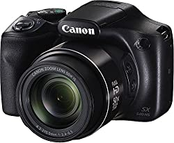 Canon Powershot SX540 HS Digital Camera | 20.3 MP | 50x Optical Zoom | Black Color