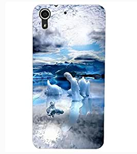 ColourCraft Awesome Scenery Design Back Case Cover for HTC DESIRE 626