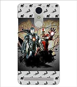 PrintDhaba Warriors D-4635 Back Case Cover for LENOVO K5 NOTE (Multi-Coloured)