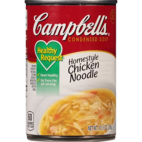 Campbell's Healthy Request Condensed Soup, Homestyle Chicken Noodle, 10.5 Ounce (Pack of 12) (Campbells Soup Chicken Noodle compare prices)