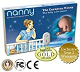 The European NANNY Baby Movement Monitor - EU Medical device SIDS Certified - NOW ON US MARKET