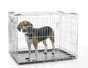 Savic Dog Residence 61 Cm Dog Crate Zinc Plated 61 X 46 X 53 Cm