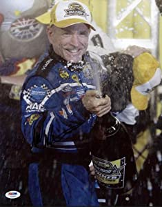 MARK MARTIN NASCAR SIGNED AUTHENTIC 11X14 PHOTO AUTOGRAPHED CERTIFICATE OF... by Press Pass Collectibles