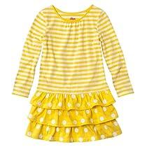 Baby Store Toddler Girls Circo 174 Yellow Stripe Dress 2t