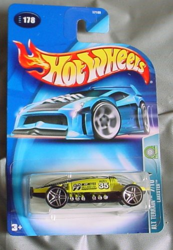 Hot Wheels 2003 Alt Terrain Lakester 7/10 #178 YELLOW - 1