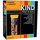 KIND Bars, Almond & Apricot, Gluten Free, 1.4 Ounce Bars, 12 Count (Grocery)