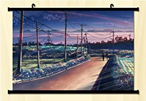 Amazon.com: Makoto Shinkai:japanese Animes Fabric Wall