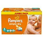 Pampers Windeln Simply Dry Gr.3 Midi...