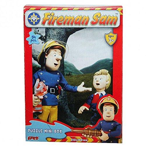Feuerwehrmann Sam - Mini Puzzle 54 Teile - Motivauswahl, Typ:Puzzle B