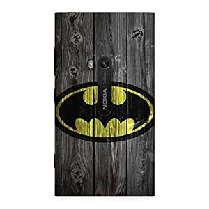 Cute Knight On Wood Print Multicolor Back Case Cover for Lumia 920