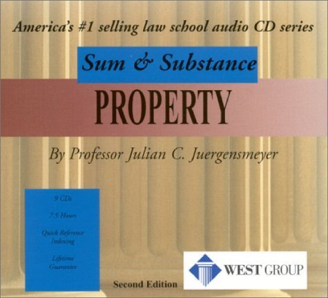Property, 2nd Edition (Sum & Substance: Outstanding Professor Series)