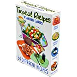 Tropical Recipes Playing Cards - Deck of 54 Cards