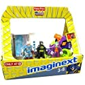 Imaginext Exclusive DC Super Friends Easter Basket with Mr. Freeze, Batman, The Joker, Joker Car & Freeze Chamber