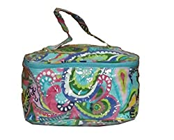 Pearly Girly Women's Handbag( Train case+ fold n go) combo