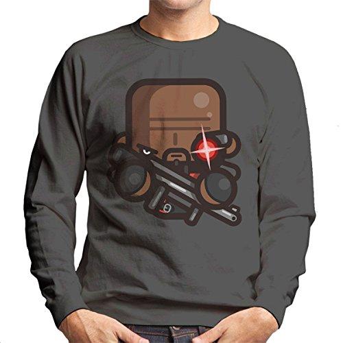 Simpler Deadshot Suicide Squad Men's Sweatshirt