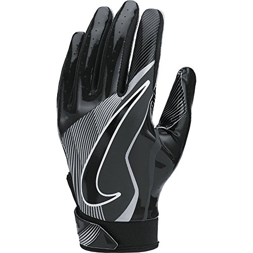Boy's Nike Vapor Jet 4 Football Gloves Black/Wolf Grey Size Medium (Football For Boys compare prices)