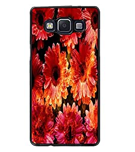 PrintDhaba Flowers D-2819 Back Case Cover for SAMSUNG GALAXY A5 (Multi-Coloured)