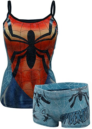 Spiderman Cami & Panty Set