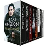 The Last Kingdom Series Books 1-8: The Last Kingdom, The Pale Horseman, The Lords of the North, Sword Song, The Burning Land, Death of Kings, The Pagan Lord, The Empty Throne