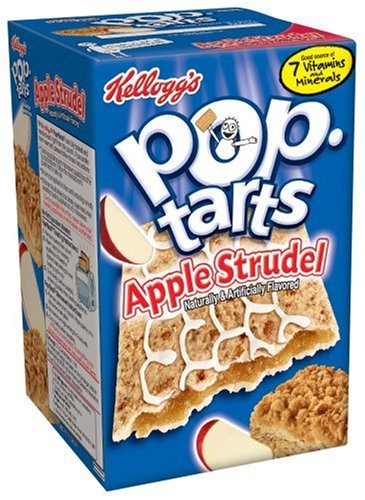 Buy Kellogg's Pop-Tarts Apple Strudel, 14.1-Ounce, 8-Count Boxes (Pack of 12) (Pop-Tarts, Health & Personal Care, Products, Food & Snacks, Breakfast Foods, Toaster Pastries)