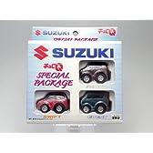 【スズキSUZUKI】タカラチョロQわくわくパックスペシャルパッケージ3車種3台セット【スイフト/エブリーワゴン/MRワゴン】【チョロキュー】【ミニカー】