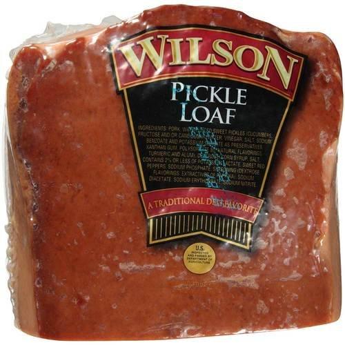 Tyson Deli Pickle Meat Loaf, 3 Pound -- 2 per case. (Pickle Loaf compare prices)