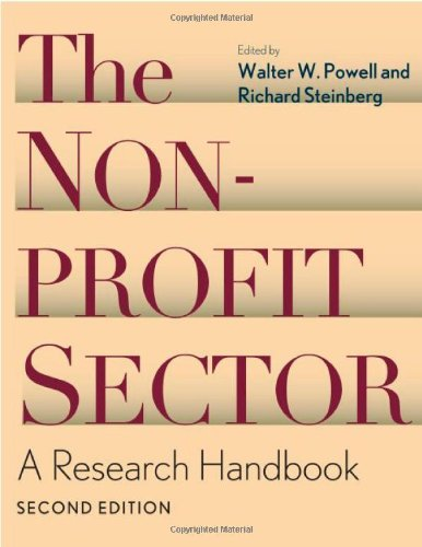 The Nonprofit Sector: A Research Handbook, Second