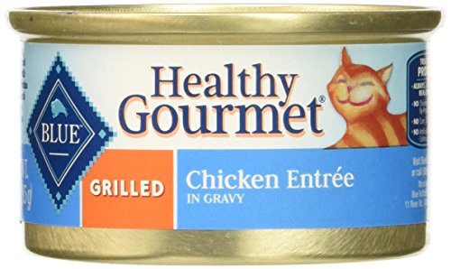 BLUE Buffalo Healthy Gourmet Grilled Chicken Entrée For Adult Cats