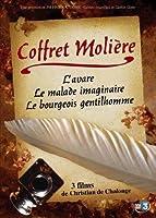 MOLIERE - Coffret 3 DVD : Le malade imaginaire, Le bourgeois gentilhomme, L'avare