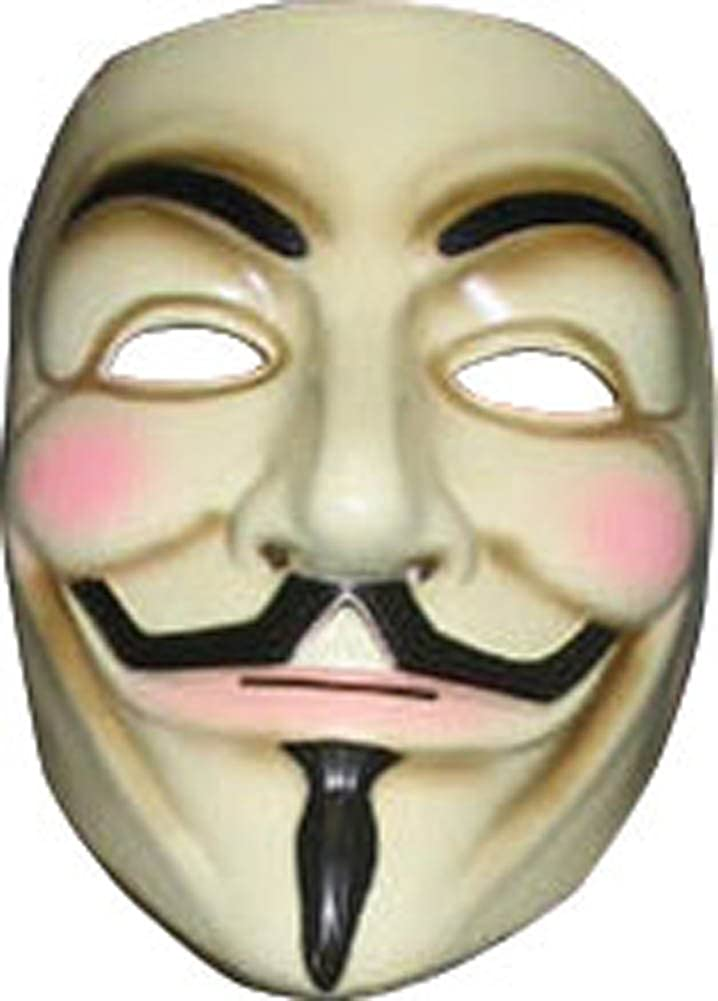 Amazon.com: V for Vendetta Mask: Toys & Games