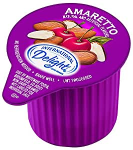 International Delight Amaretto, 288 Count Single-Serve Coffee Creamers