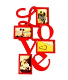 Love Collage Frame with 4 photos