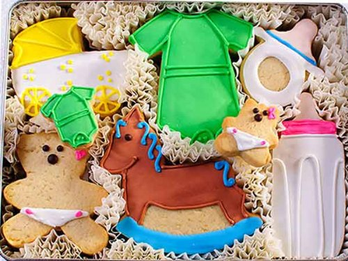 New Arrival Homemade Sugar Cookie Gift Tin