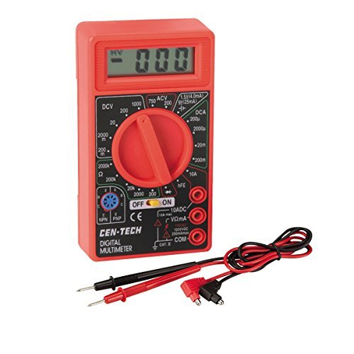 7 Function Digital Multimeter -USATM (Cen Tech Digital Multimeter compare prices)