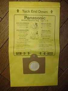 Low Price PANASONIC MC-V150M 3-Pack of Vacuum Bags