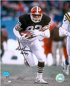 Ozzie Newsome Autographed Hand Signed 8x10 Photo (Cleveland Browns Hall of Famer)... by Hall of Fame Memorabilia