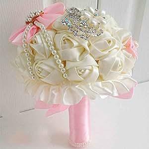 Wedding Bouquet Bride Holding Flowers Bridesmaids