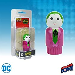 Batman Classic TV Series The Joker Pin Mate Wooden Figure